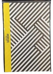 Kate Spade Slim Notebook in Zig Zag NEW