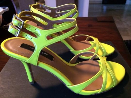 Ann Taylor Riley Patent Leather Strappy New Sandals