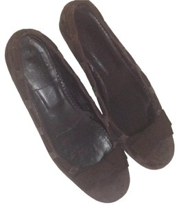 J.Crew Chocolate Brown Flats
