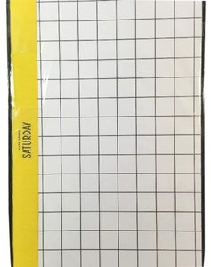 Kate Spade SLIM NOTEBOOK in WINDOWPANE NEW