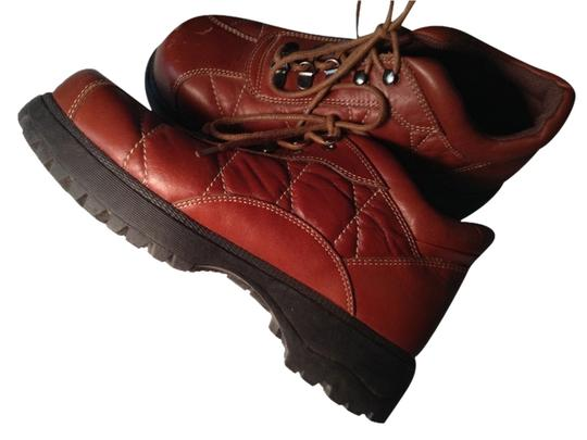 Colin Stuart Brown Leather Boots