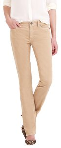 J.Crew Cords Corduroy Relaxed Fit Skinny Straight Leg Jeans-Light Wash