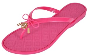 Tory Burch Jelly Thong Pink Sandals