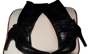 Alternative Apparel Black Leather Boots