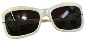 Valentino Valentino White Sunglasses with Case