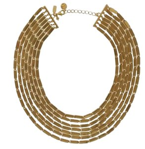 Kate Spade NWT Kate Spade 12K Gold Plated Gold Rush Collar Necklace MSRP $248