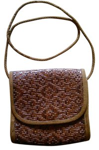 La Bagagerie John Marlin of Paris Jute Cross Body Bag
