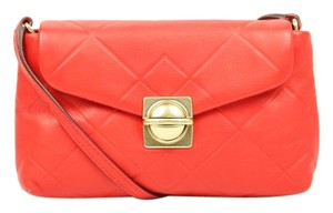 Marc Jacobs Leather Marc By Cross Body Bag