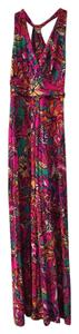 Multi sea and be seen Maxi Dress by Lilly Pulitzer Summer Sunday
