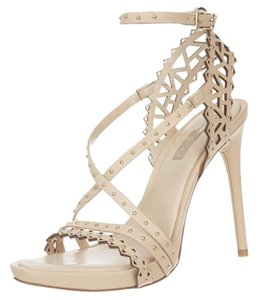 BCBGMAXAZRIA Max Azria Sandal Esra Sandal Studded Stiletto Beige/Powder Formal