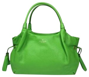 Kate Spade Satchel in Bright Green