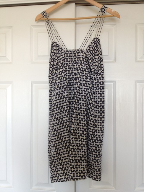 Greylin short dress Navy & White on Tradesy