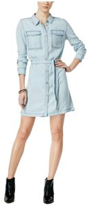 Sanctuary Clothing short dress Blue Denim on Tradesy