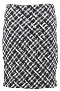 Dalia Collection Skirt Black White Gray