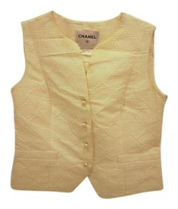 Chanel Silk Suiting Vest