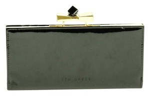 Ted Baker Patent Leather Bow Wallet