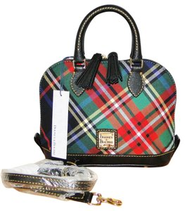 Dooney & Bourke Bitsy Plaid Small Cross Body Bag
