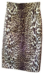Elie Tahari Skirt Animal Print