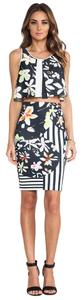 Clover Canyon Graphic Print Pencil Skirt multi