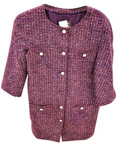 Chanel Lesage Fantasy Metallic Purple tweed Jacket