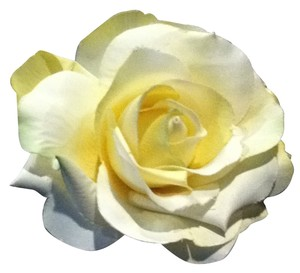 Buttery Yellow Rose Pin Bridal Spring Accessory Pin