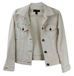 J.Crew Denim Spring White Womens Jean Jacket