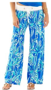 Lilly Pulitzer Relaxed Pants Blue Crush Bamboo