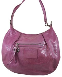 Coach Poppy Jazzy Patent Leather Hobo Bag