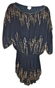 Parker Sequin Drop Waist Tunic Dress