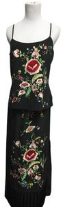 Sue Wong Silk Embroidered Dress