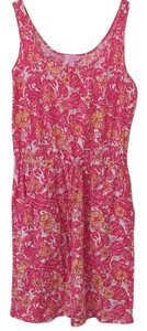 Lilly Pulitzer short dress Multi-color, pink on Tradesy