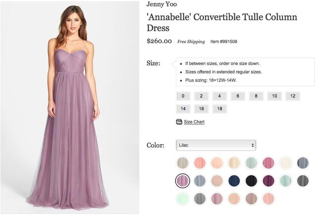 Item - Lilac Tulle Annabelle Formal Bridesmaid/Mob Dress Size 10 (M)