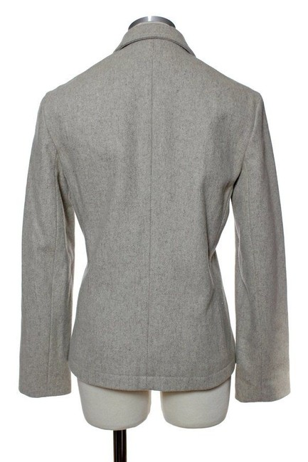 J.Crew Full-zip Felted Wool 2-pocket Warm Beige Jacket