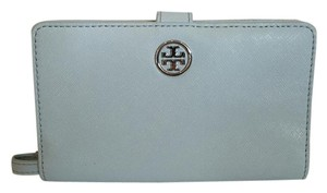 Tory Burch TORY BURCH NWT ROBINSON ICEBERG SAFFIANO LEATHER SMARTPHONE WALLET