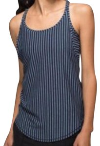 Lululemon LIKE NEW LULULEMON STRIPED VITA RACER TANK SIZE 6