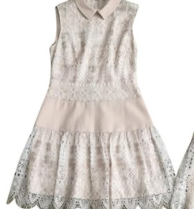 BCBGMAXAZRIA short dress Champagne on Tradesy