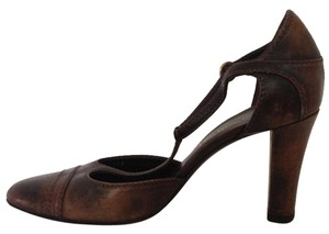 Bruno Magli Brown/tan Pumps