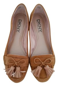 DKNY Camel brown Flats