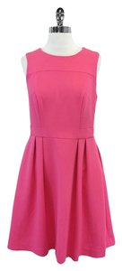 Shoshanna short dress Pink Sleeveless Fit & Flare on Tradesy