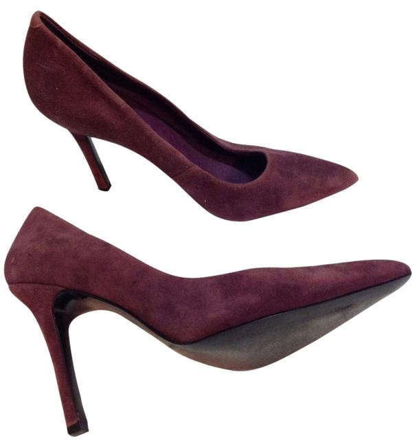 Item - Purple Suede Pumps Size US 8.5 Regular (M, B)