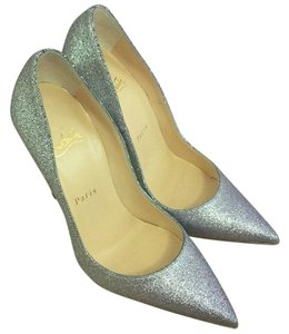 Christian Louboutin Gold/silver degrade Pumps