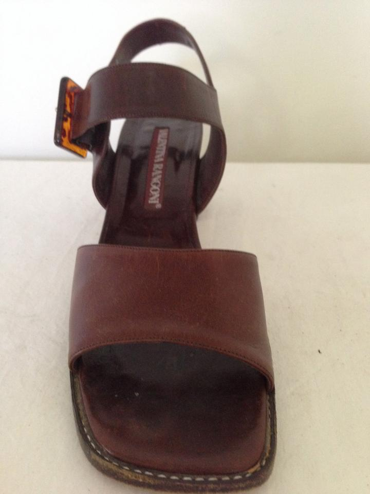 3c9b4003e Brown All Leather Sandals. Size  US 9 Narrow (AA ...