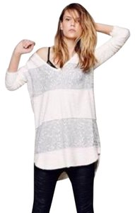 Free People Sequin Oversized V-neck Tunic