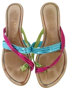 Other Blue/pink/green Sandals