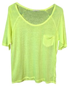 Forever 21 Top Neon Yellow