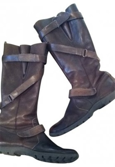 Preload https://img-static.tradesy.com/item/166263/brown-quality-leather-riding-zipper-and-straps-flat-bootsbooties-size-us-65-regular-m-b-0-0-540-540.jpg