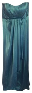 Bari Jay Turquoise Maternity Bridesmaid Dress
