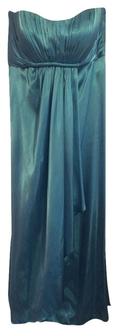 Bari Jay Turquoise Gown by Bari Jay