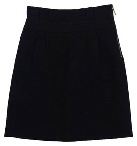 Kate Spade Black Cotton Skirt