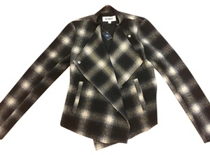 BB Dakota Blue Plaid Blazer